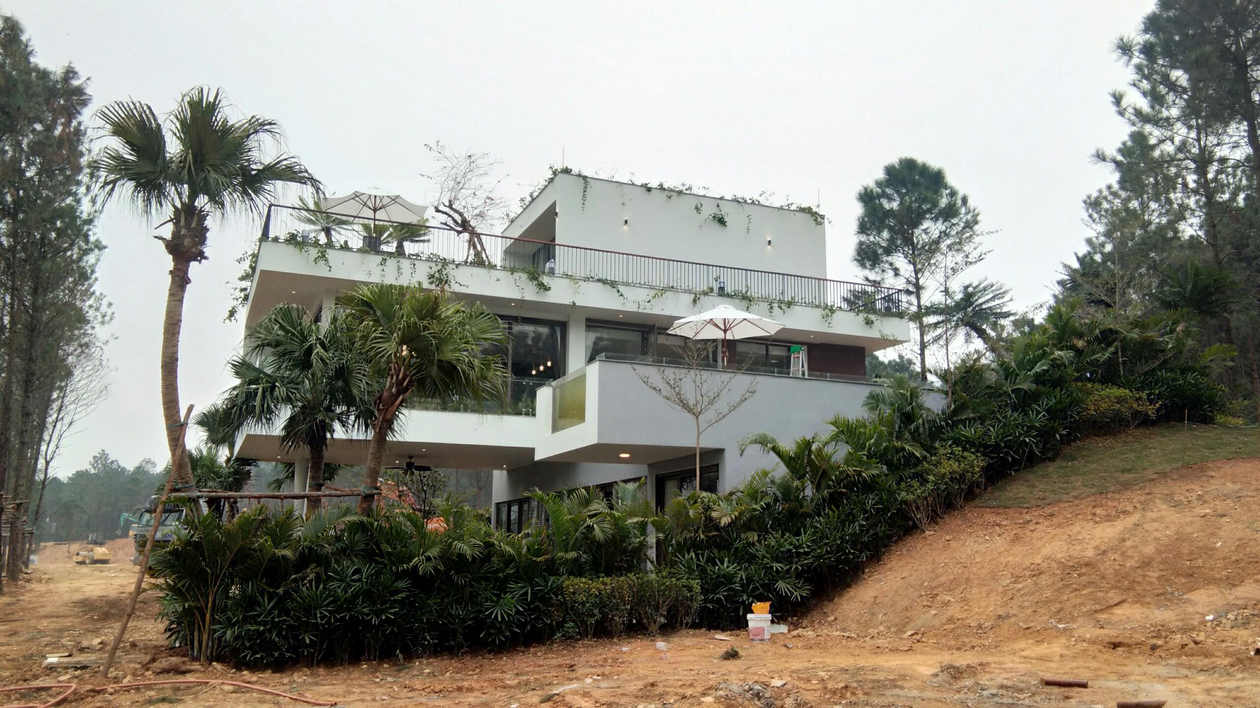 biệt thự Bán Đảo Nam mẫu